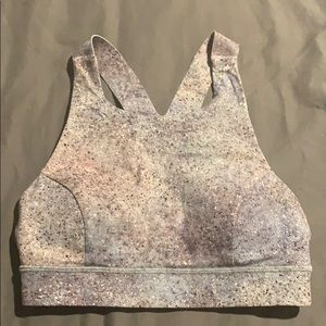 Lulu high neck sports bra